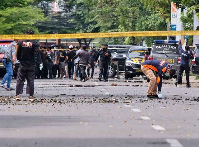 Indonesia Church Attack