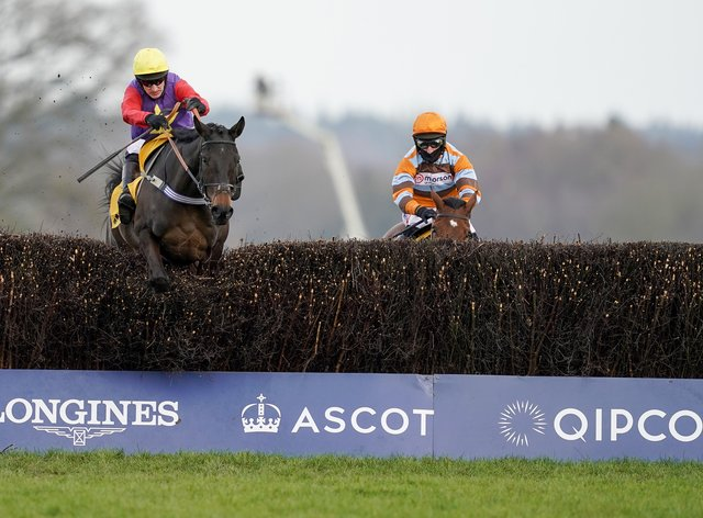 Dashel Drasher (left) could run at Aintree if the ground was right