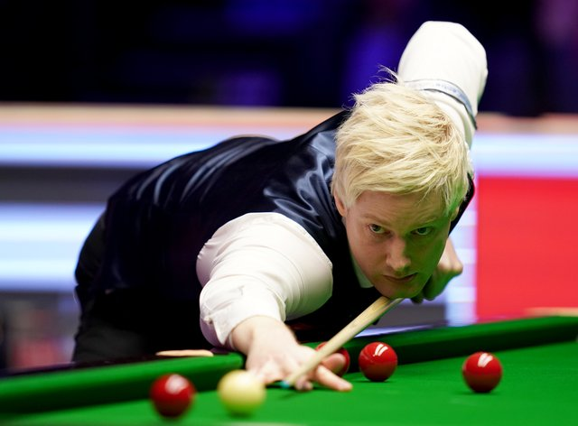 Neil Robertson was victorious in the final
