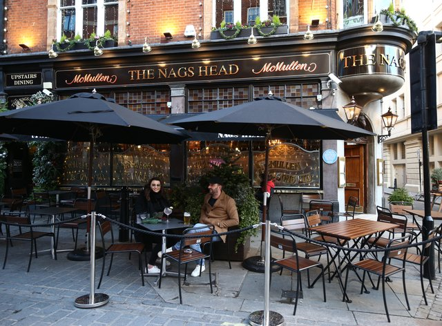 Outdoor hospitality venues such as beer gardens can reopen from April 12