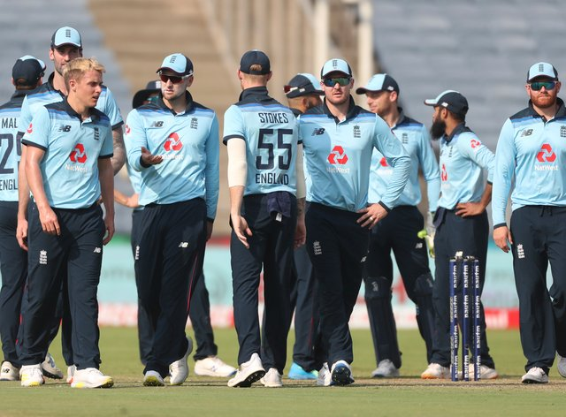 England lost a closely-fought one-day series in India.