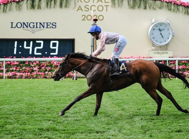 Royal Ascot winner Onassis is back in training
