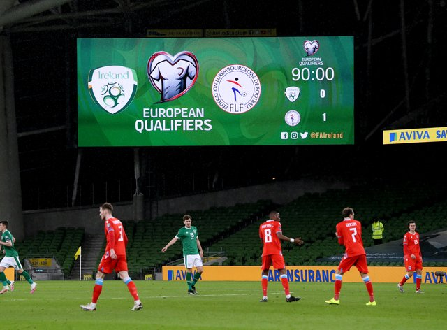 The Republic of Ireland in action