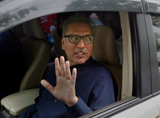President Arif Alvi (Anjum Naveed/AP)