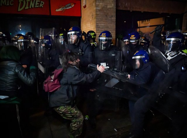 There have been three Kill the Bill demonstrations in Bristol and each has turned violent