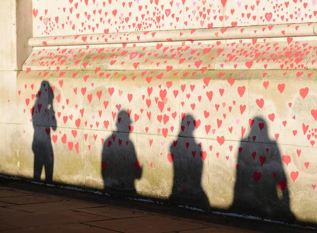 Coronavirus Memorial Wall
