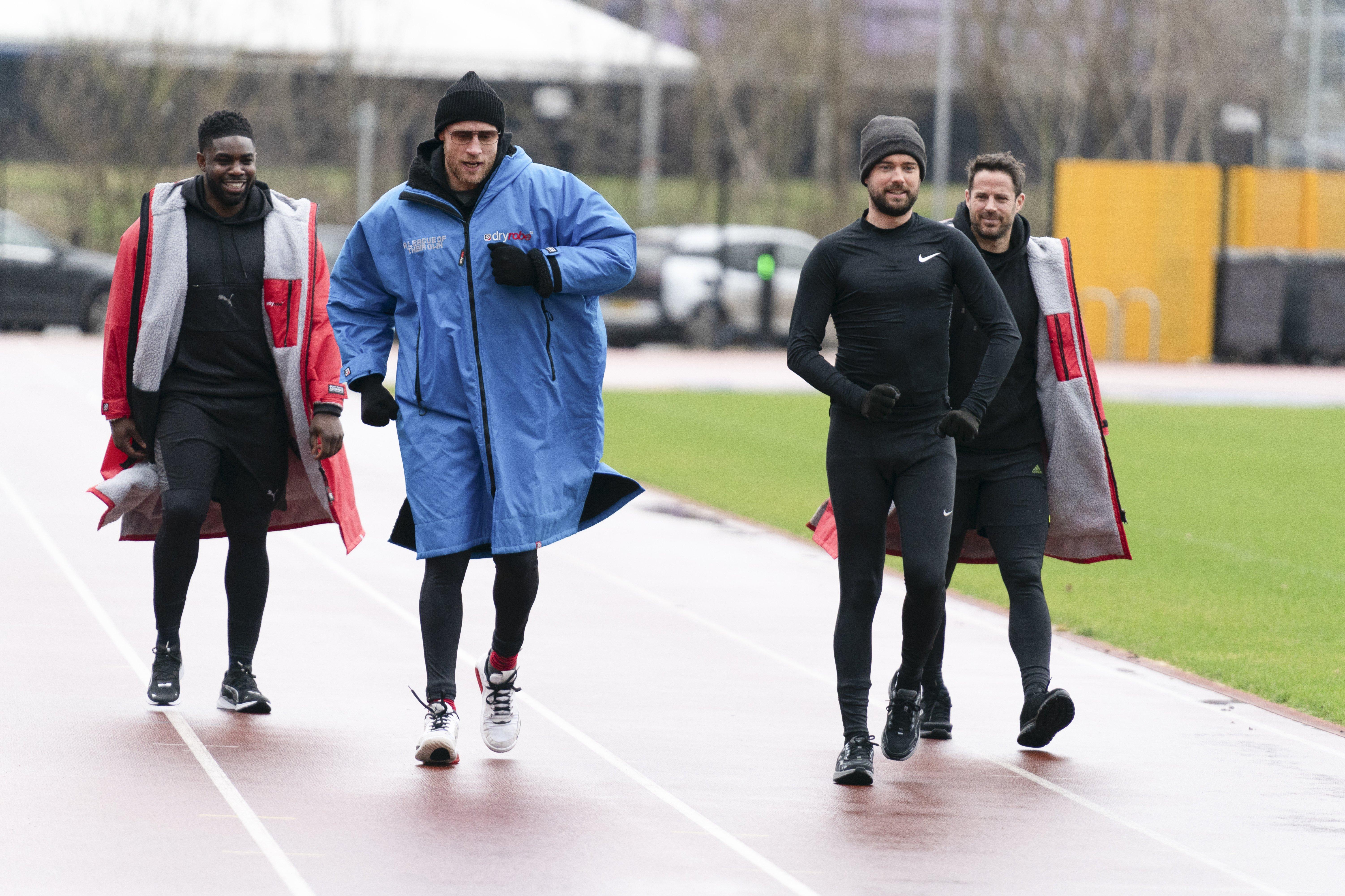 Freddie Flintoff: We're in Scotland, in winter, being chucked in a loch