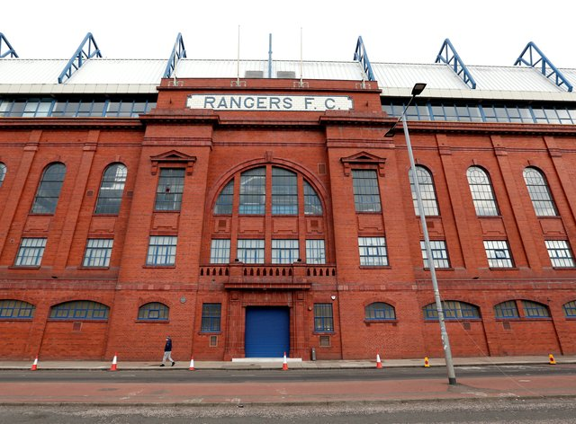 Rangers fans – Ibrox Stadium