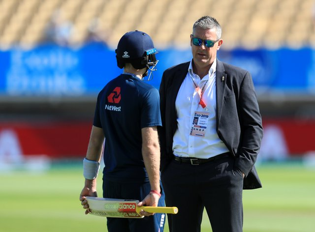 Ashley Giles, right, is supportive of England's players competing in the Indian Premier League