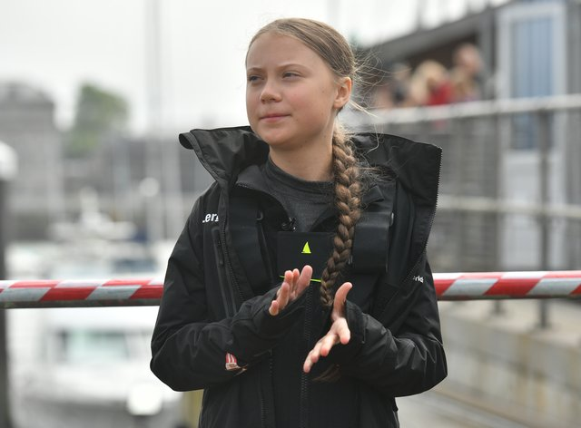 Climate activist Greta Thunberg (Ben Birchall/PA)
