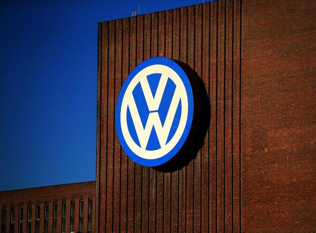 The Volkswagen factory in Wolfsburg