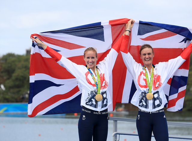 Double Olympic champion Helen Glover (left) has been named in the Team GB squad for the forthcoming European Rowing Championships.