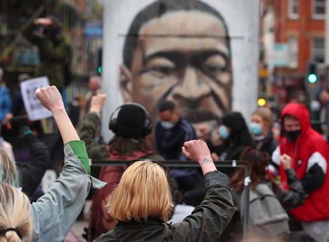 Black Lives Matter demonstrators