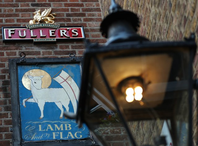 Fullers' Lamb and Flag pub in Covent Garden