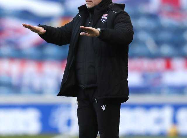 Ross County boss John Hughes preparing for Highland derby in cup