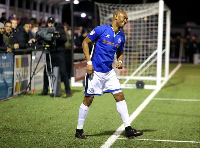 Striker Calvin Andrew hopes to make his first Barrow start against Newport