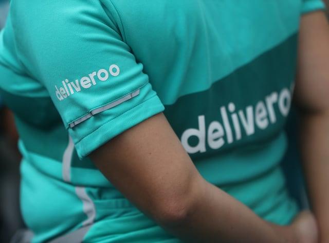 Deliveroo staff