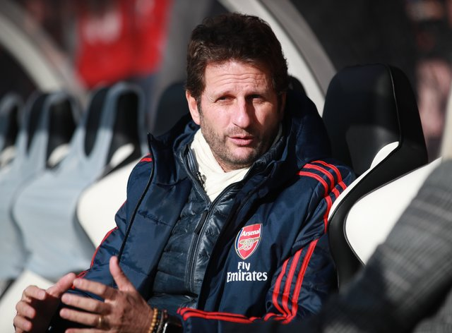 """Manager Joe Montemurro revealed he was a """"mess"""" when he told the Arsenal Women players about his decision to leave the club at the end of the season"""