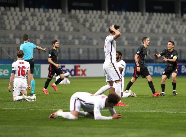 Croatia v England – 2021 UEFA European Under-21 Championship – Group D – Bonifika Stadium
