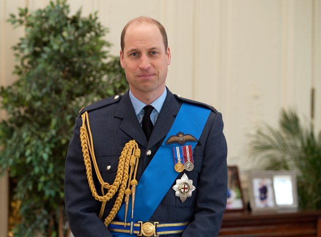 The Duke of Cambridge in his video message to mark 100 years of the Royal Air Australian Force