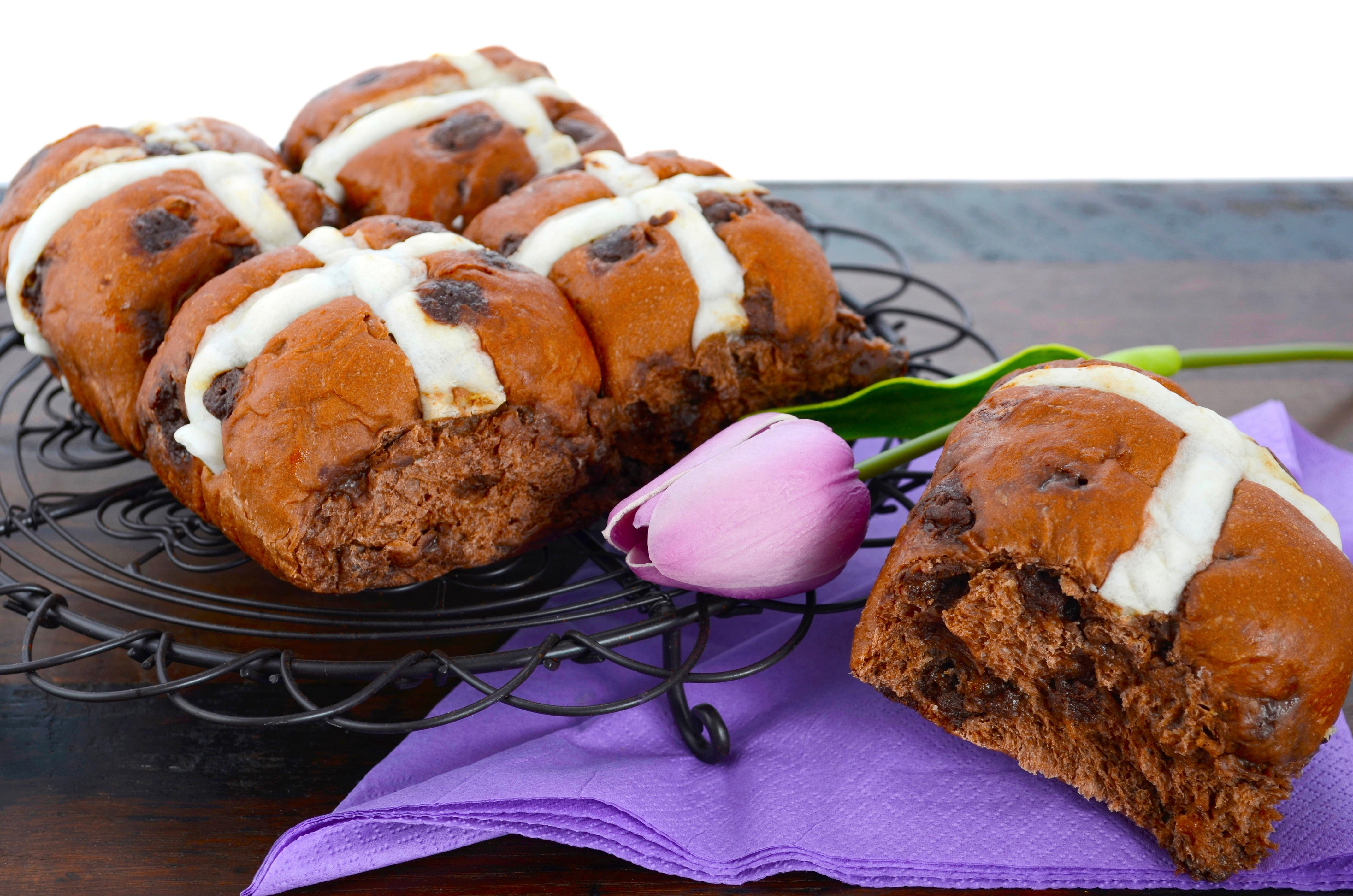 7 non-traditional types of hot cross buns to make this weekend