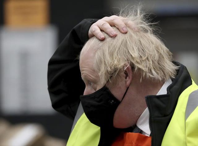 Boris Johnson visit to Teesside