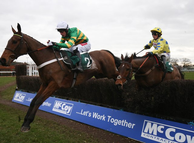 OK Corral will bid to provide Nicky Henderson with victory in the Randox Grand National