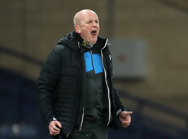 David Martindale's side needed extra-time to progress