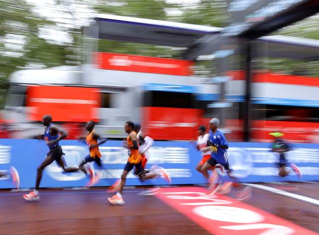 Virgin Money London Marathon – St James' Park