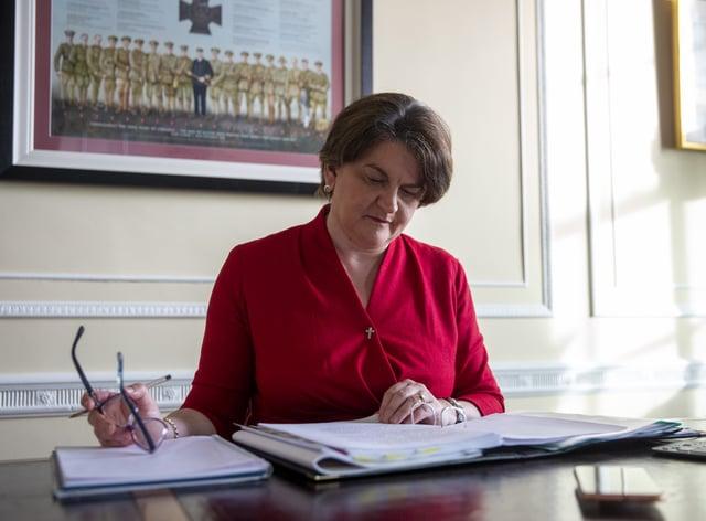 Stormont First Minister Arlene Foster