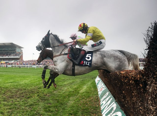 Politologue is aiming to win the Melling Chase again