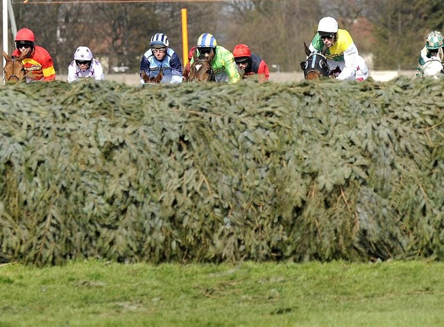 Some Man will be tackling the Grand National fences at Aintree