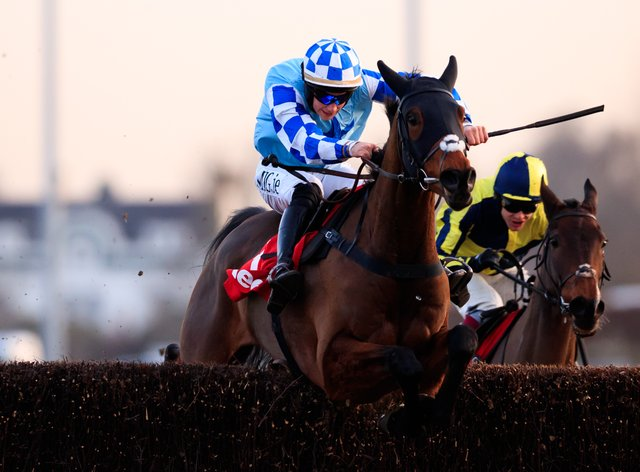Double Shuffle is going to have a second bite at the Randox Grand National