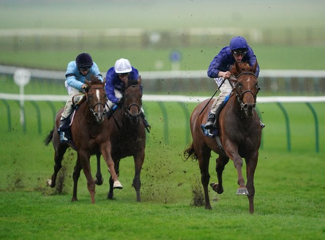 Hurricane Lane has been entered in the Derby at the second stage