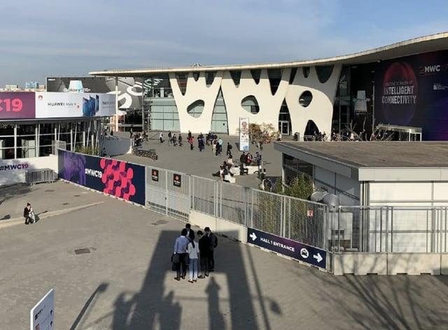Mobile Word Congress tech show in Barcelona