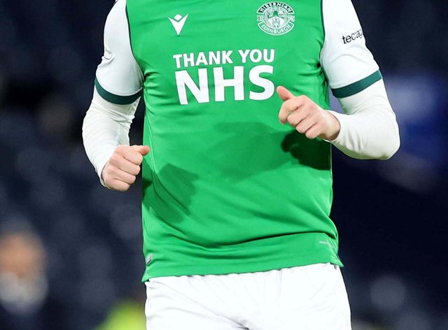 Hibernian's Kevin Nisbet has attracted interest this season