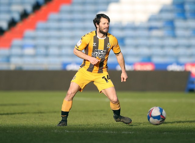 Wes Hoolahan in action for Cambridge