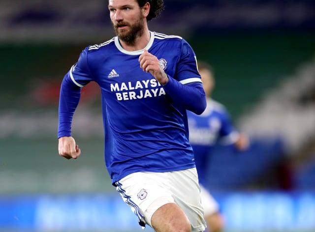 Cardiff defender Sean Morrison