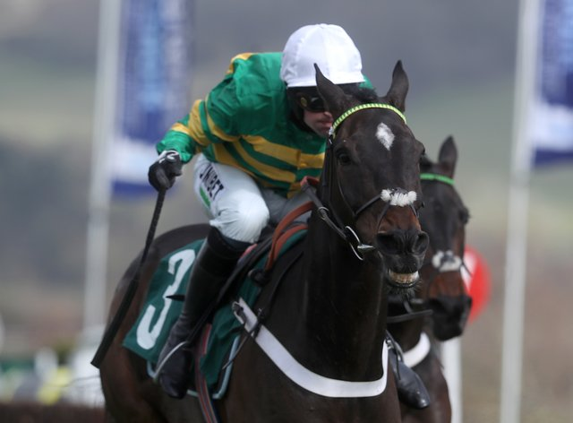 Chantry House in winning action at Cheltenham