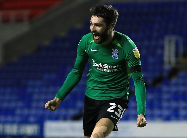 Birmingham's Jon Toral is out for Lee Bowyer's side