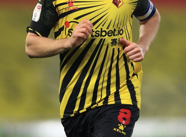 Watford midfielder Tom Cleverley