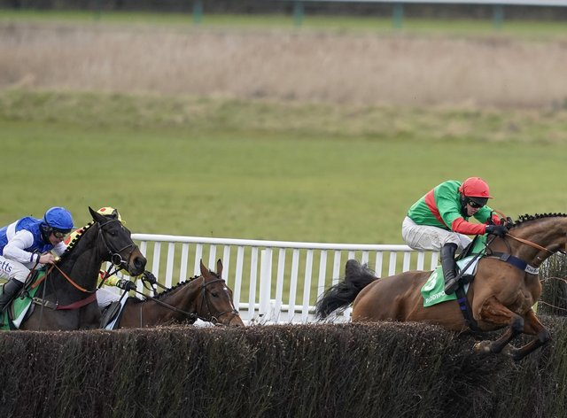 Two For Gold is to sample the National fences for the first time in the Topham