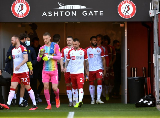 Bristol City held Nottingham Forest at Ashton Gate
