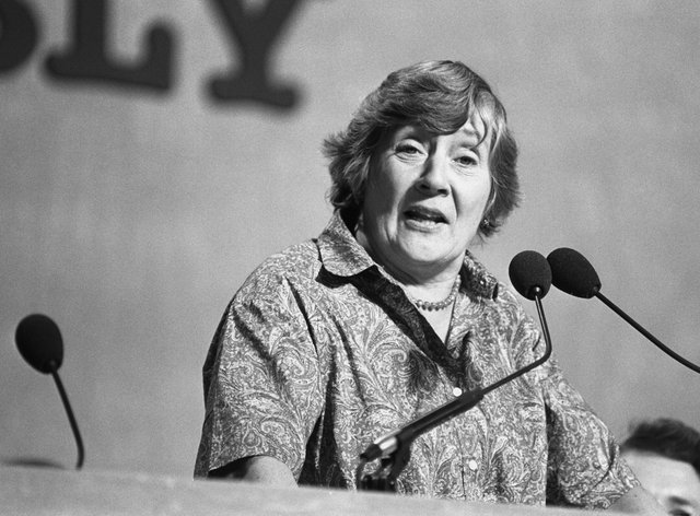 SDP president Shirley Williams