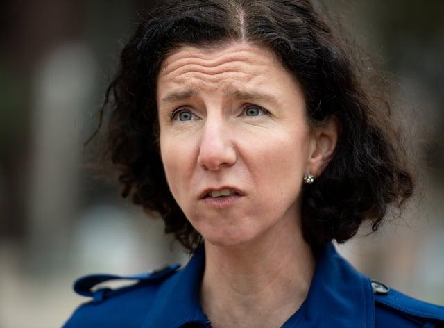 Shadow Chancellor Anneliese Dodds