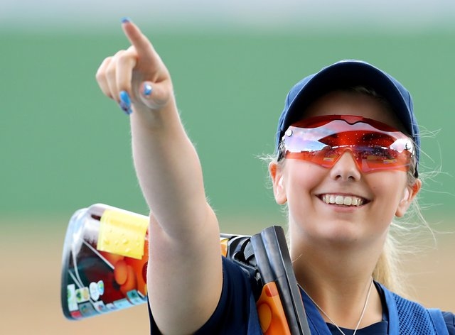Amber Hill is closing in on a place at her second Olympic Games