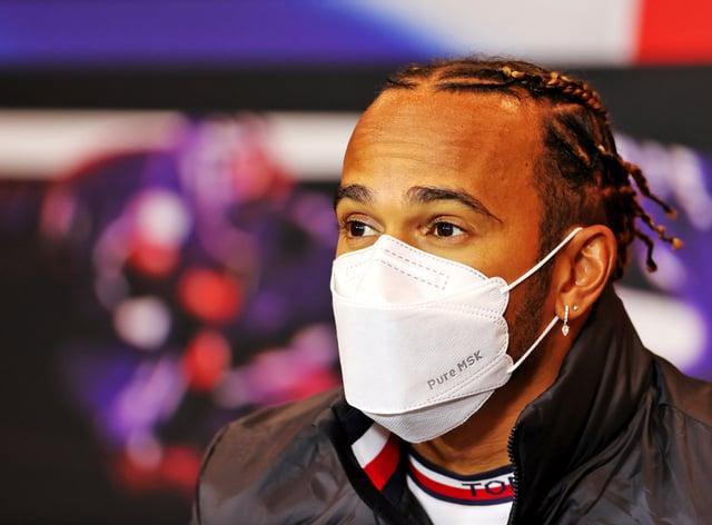 Lewis Hamilton speaks ahead of this weekend's Emilia-Romagna Grand Prix