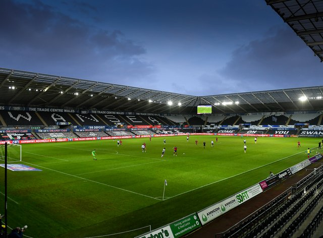 General view of the Liberty Stadium