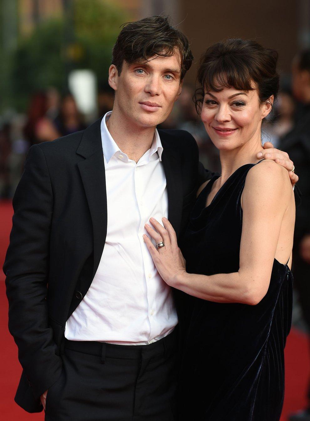 Cillian Murphy and Helen McCrory
