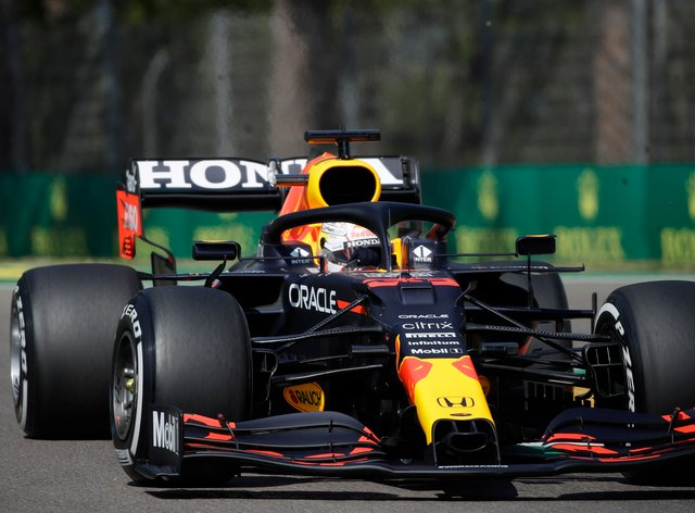 Max Verstappen clocked the fastest time in final practice